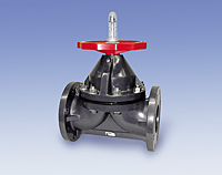 Type-G Flanged Diaphragm Valve