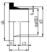 Proline-PRO45_PRO150-STUB END (FLANGE ADAPTER)_Drawings