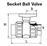 Socket Ball Valve
