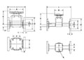 T-342-Diaphragm-Valve---Flanged_Drawing